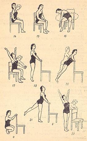 Упражнения для похудения рук с гантелями в домашних условиях с картинками
